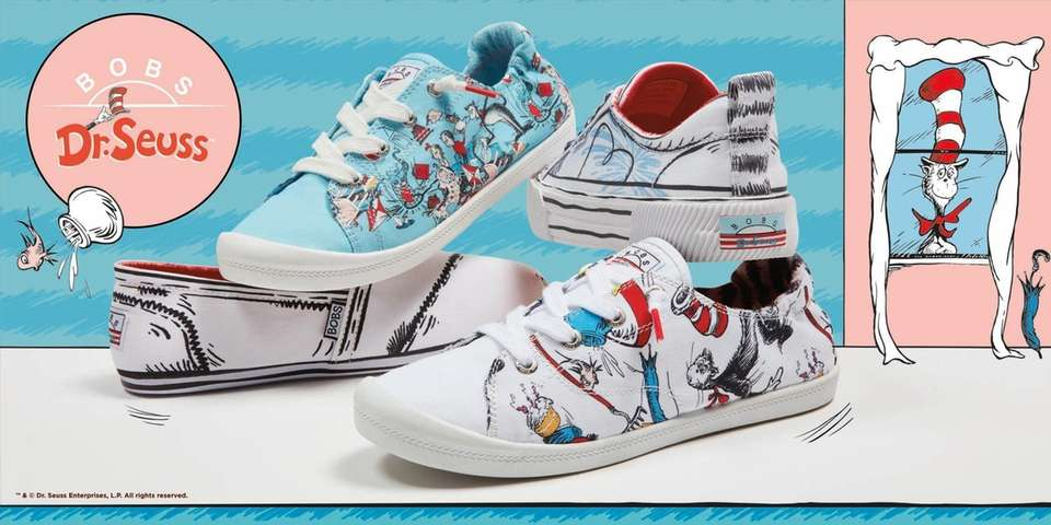 Skechers has a new line of Dr. Suess-themed