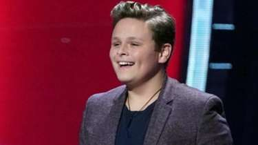 Carter Rubin, 14, of Shoreham stunned the judges