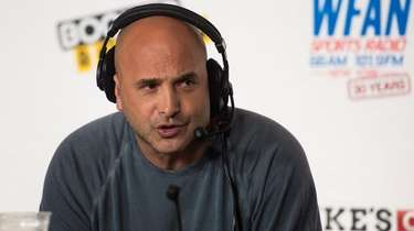 Craig Carton speaks during WFAN's 30th anniversary celebration