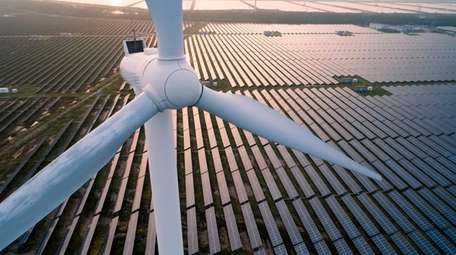 Renewables such as solar and wind are expected