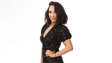 "Cheryl Burke of ABC's ""Dancing with the Stars"""