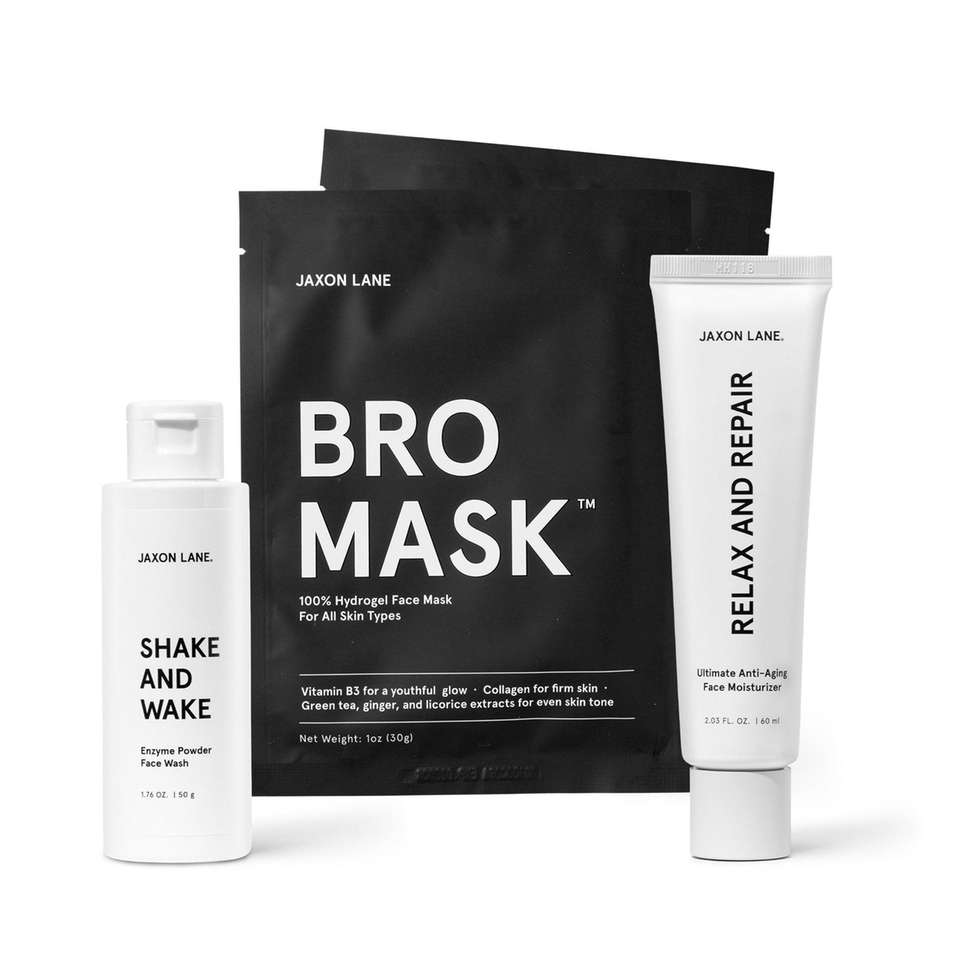 Men who are dedicated to keeping their skin
