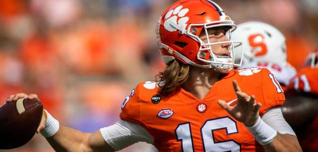 Clemson's Trevor Lawrence on leaving early for the NFL: 'Who knows?'