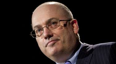 Steve Cohen speaks during the Robin Hood Veterans
