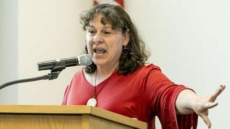 Susan Gottehrer, director of Nassau's chapter of the