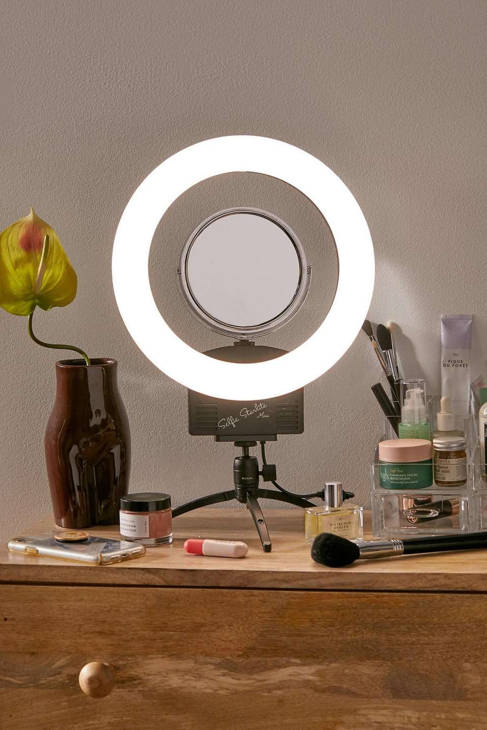 You'll have the perfect lighting for your next