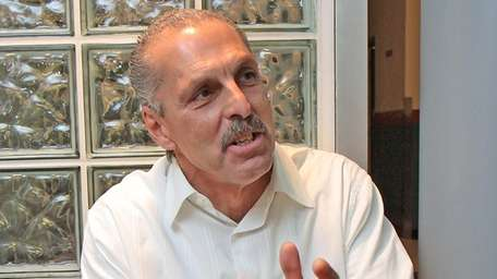 Joe Benigno reminisces about the past at the