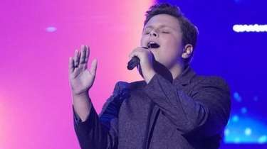Shoreham singer Carter Rubin, 15, is competing on