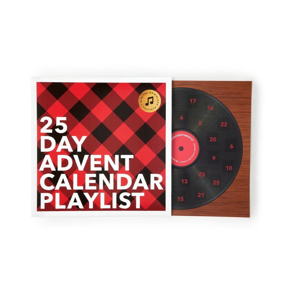 25 Day Advent Calendar Playlist: Each day reveals