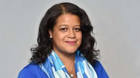 Michaelle Solages is the Democratic incumbent candidate for