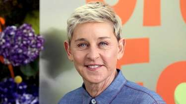 Daytime talk-show host Ellen DeGeneres welcomed back a
