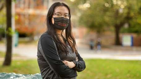 Stony Brook University senior Samantha Lu.