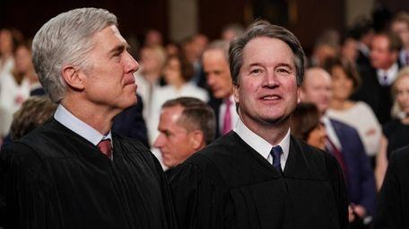Supreme Court Justices Neil Gorsuch and Brett Kavanaugh