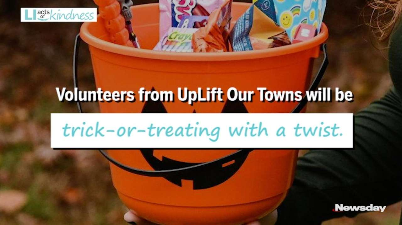 On Halloween, the organization UpLift Our Towns will