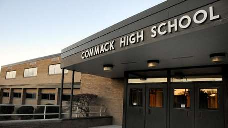 Commack High School switched to a remote schedule