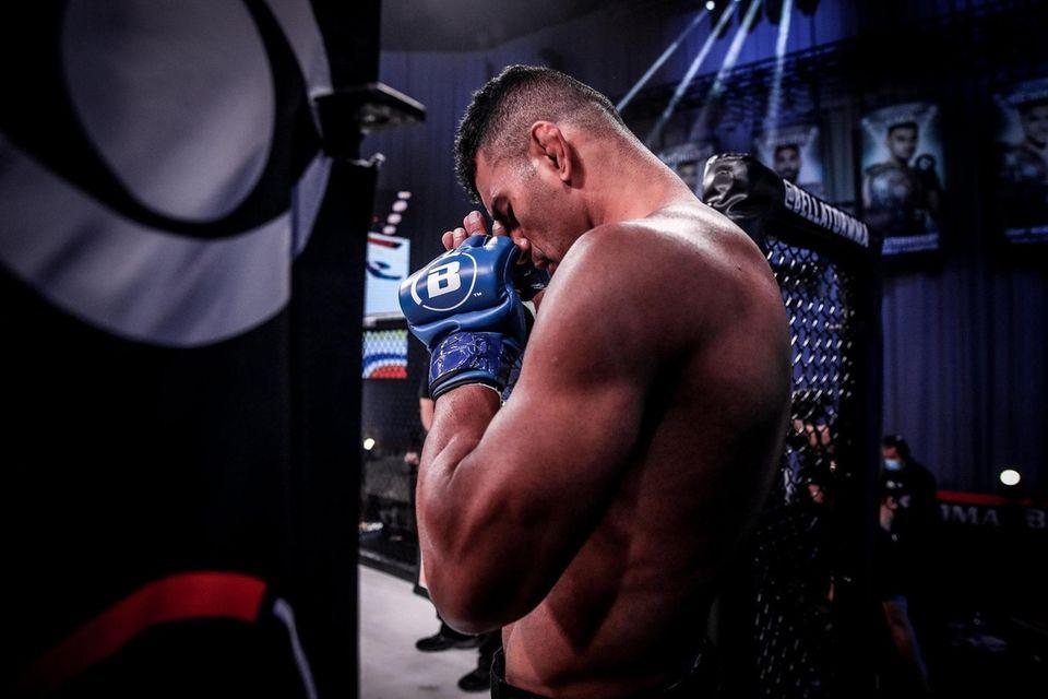 Bellator welterweight champion Douglas Lima prepares to face