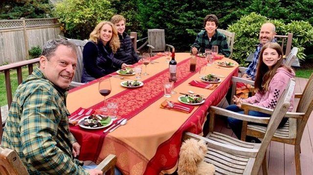 Melissa August-Levin of Glen Head had her Thanksgiving