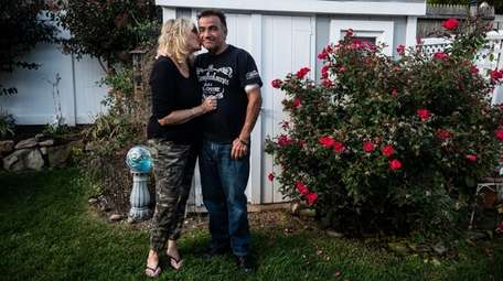 Tony Jimenez and his wife, Kathy, at their