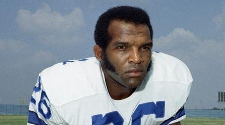 Cowboys cornerback Herb Adderley on Sept. 1972.