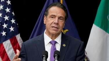 Gov. Andrew M. Cuomo on Oct. 12.