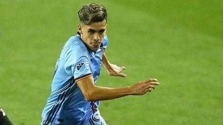 Jesus Medina #19 of New York City FC