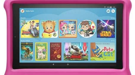The Amazon Fire HD 10 Kids tablet allows