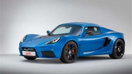 Detroit Electric's SP:01, a limited-edition electric sports car,