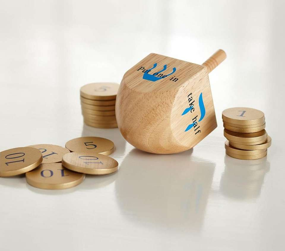 Teach your children this classic Hanukkah game with