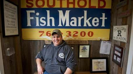 Charlie Manwaring, owner of Southold Fish Market, said