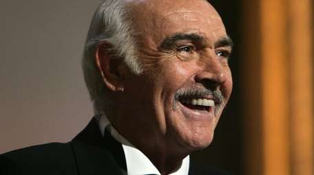 Movie star Sean Connery died over the weekend