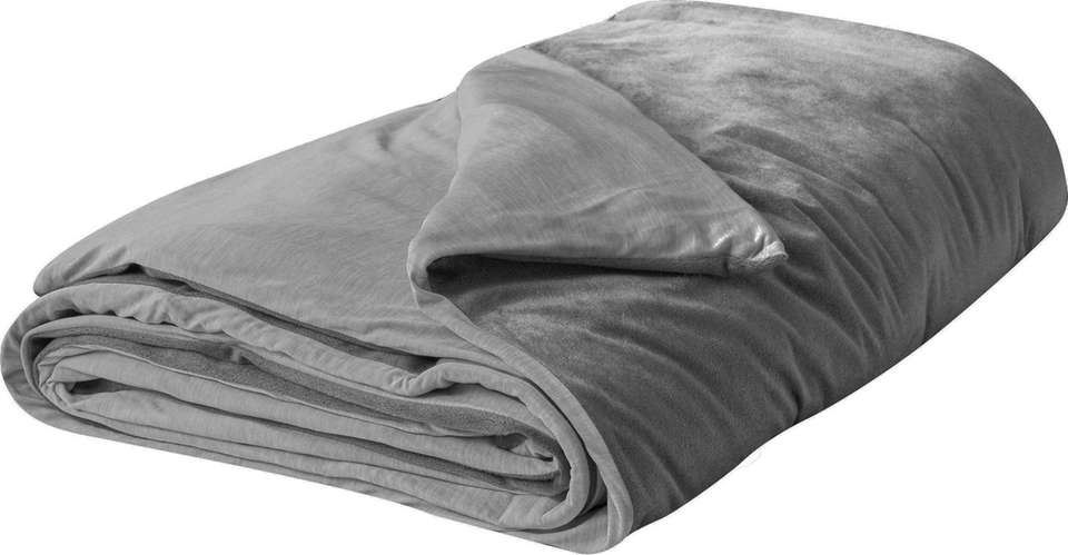 Weighted blanket fans love the coziness of a