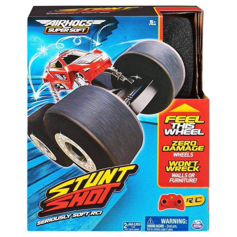 Perform incredible indoor stunts with this remote control