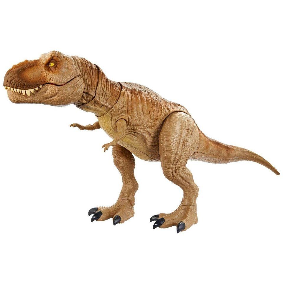 Dinosaur fans will love this roaring Tyrannosaurus Rex