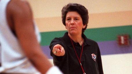 Nancy Darsch coached the :Liberty in the WNBA's