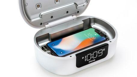 The iHome iUVBT1 Pro UV-C sanitizer Bluetooth speaker