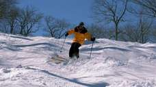 Catamount Mountain in upstate Hillsdale has a separate