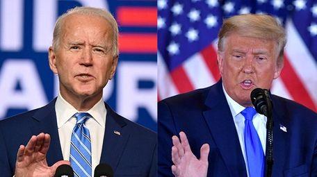 Democratic Presidential candidate Joe Biden speaks at the