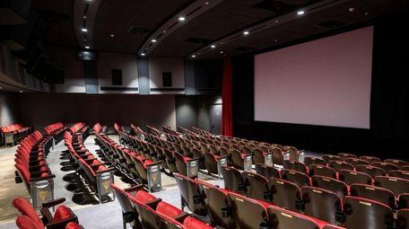 Interior of the largest of three cinemas of