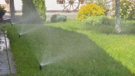 A sprinkler company can blow out your sprinkler