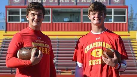 Chaminade juniors Matthew, left, and Thomas Steuber