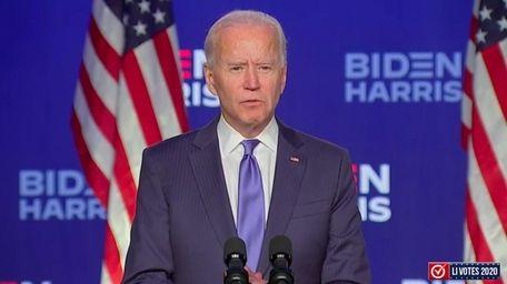 Newsday's Faith Jessie looks at Biden's speech Friday