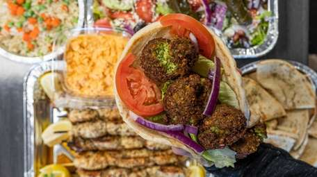 A family special at Pete the Greek in
