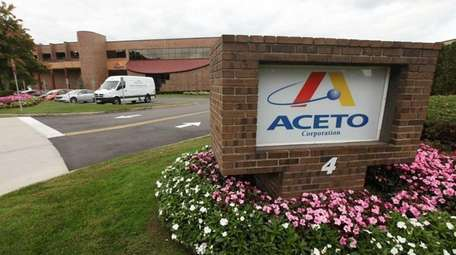 Aceto headquarters in Port Washington.