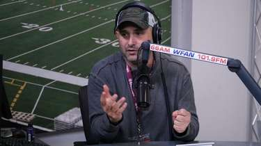 "Craig Carton on air on the first ""Carton"