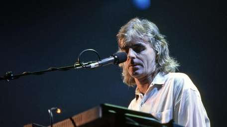 Pink Floyd's Richard Wright at the