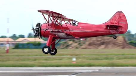 This Waco Aircraft Company biplane is available for