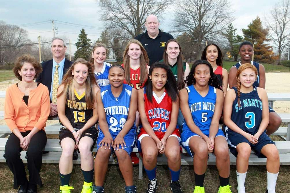 Newsday's 2013 All-Long Island girls basketbal team Front
