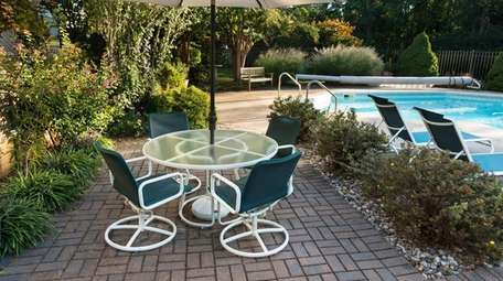 Patio furniture should be brought in before winter.