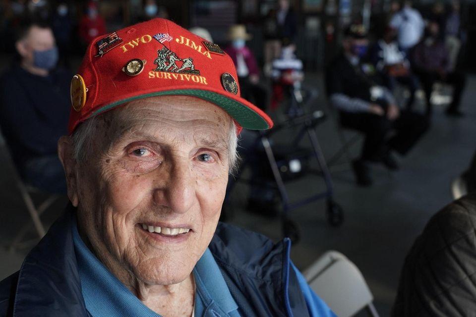 World War II veteran Albert Gallo, 97, of