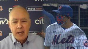 Mets president Sandy Alderson comments on Luis Rojas'